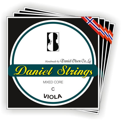 Viola Strings Mixed Core 24 USD SET