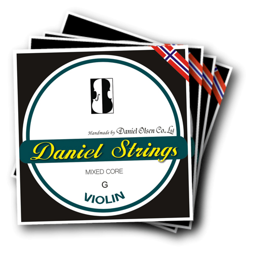 Daniel Violin Strings Mixed Core