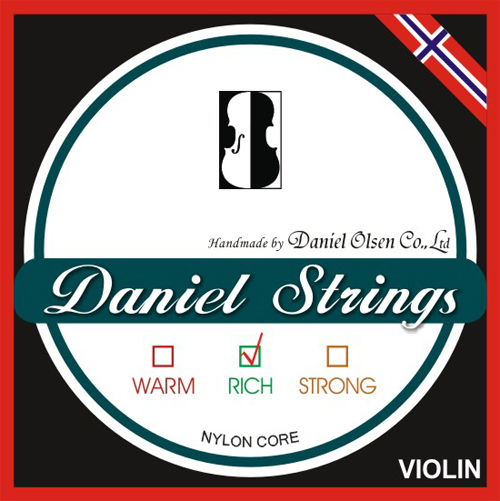 Violin Strings Nylon Core 65 USD SET